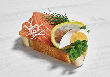 Duran Sandwich Geraeucherter Lachs