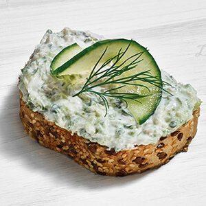 Duran Sandwich Gurkensalat Zaziki Vollkornbrot