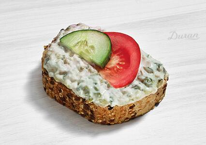 Duran Sandwich Wurstsalat Vollkornbrot