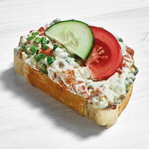 Duran Sandwich Wurstsalat Weißbrot