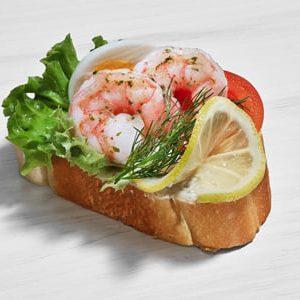 Duran Sandwich - Krabbe mit Cocktailsauce